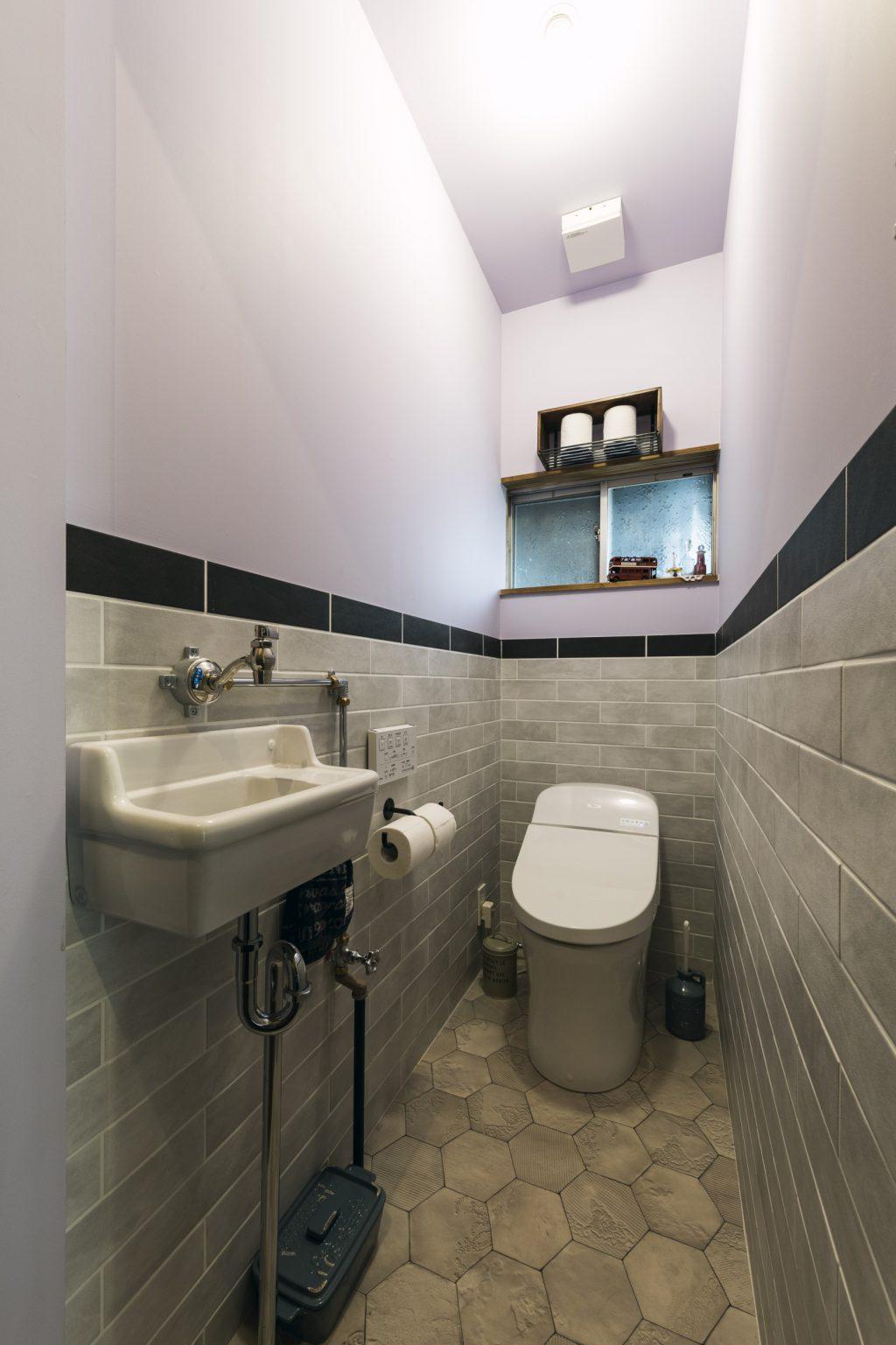 岐阜県各務原市N様邸リノベーション事例のトイレ