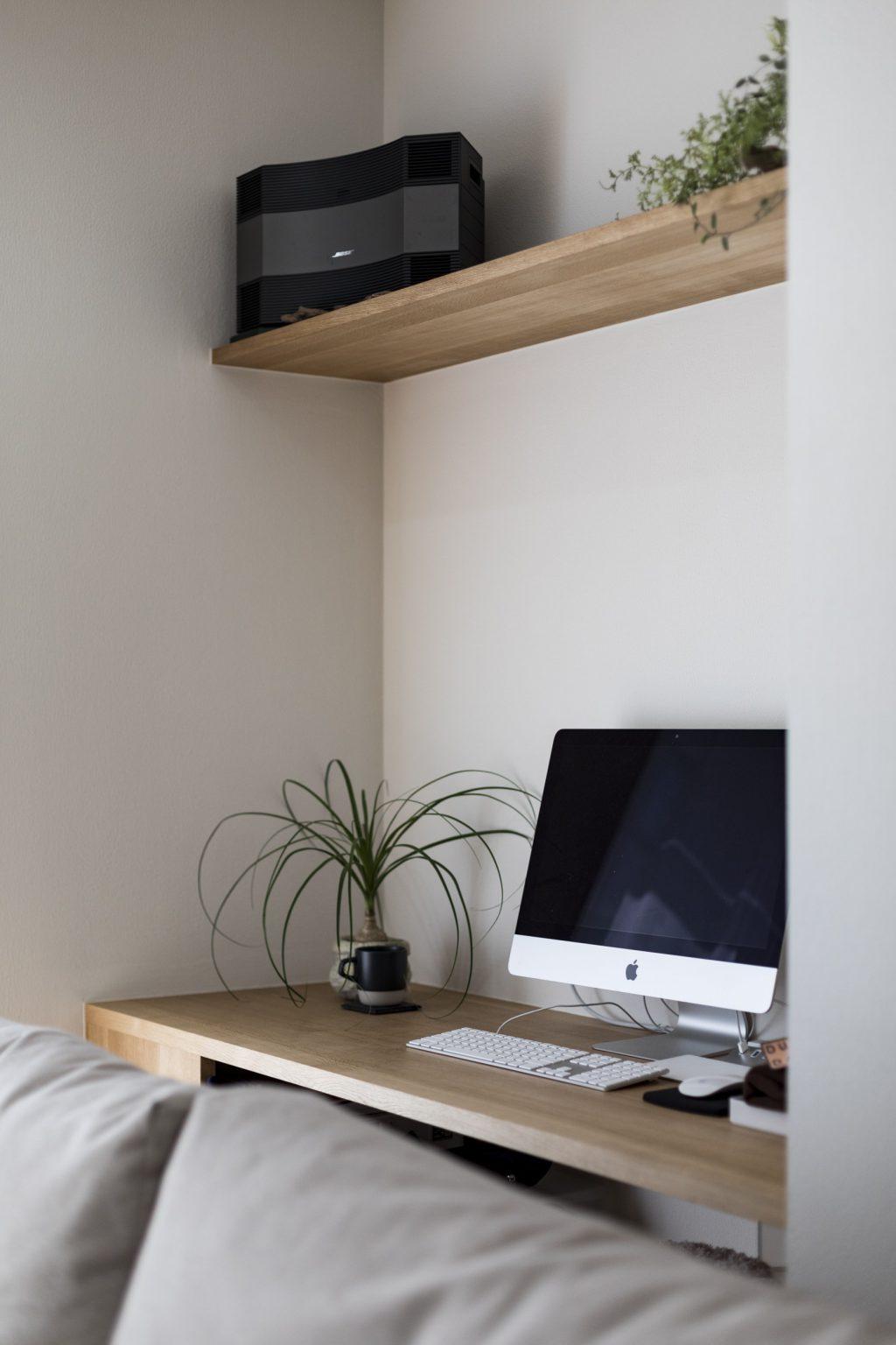 岐阜県瑞穂市の二世帯住宅リノベーション事例のカウンター