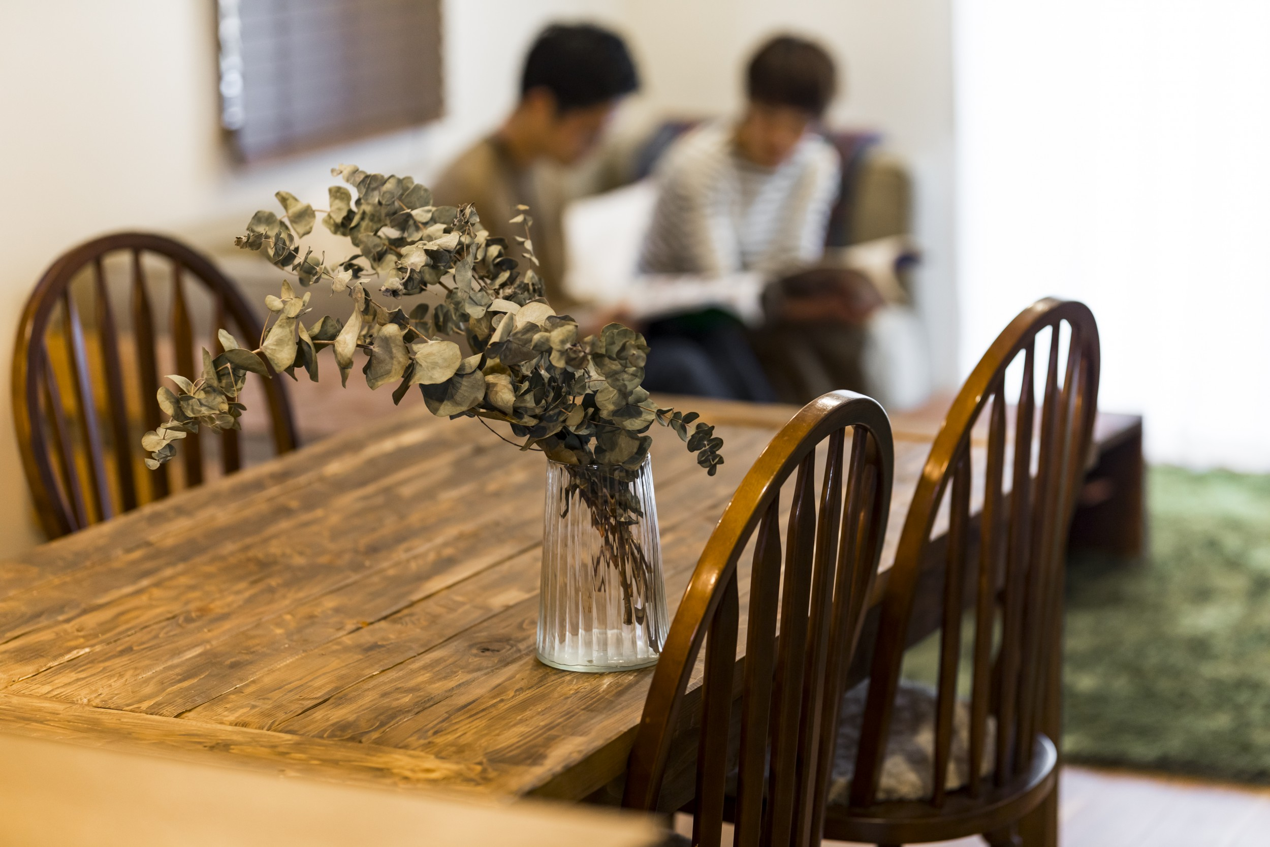 岐阜市H様邸のリノベーション事例のダイニングテーブル