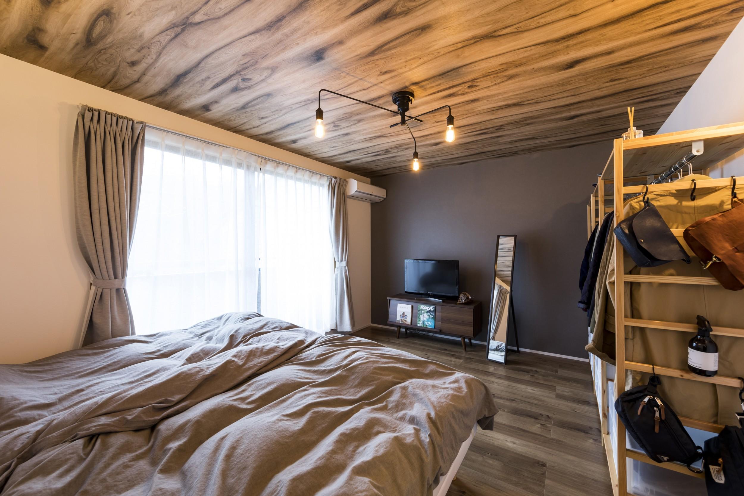 岐阜市H様邸のリノベーション事例の寝室