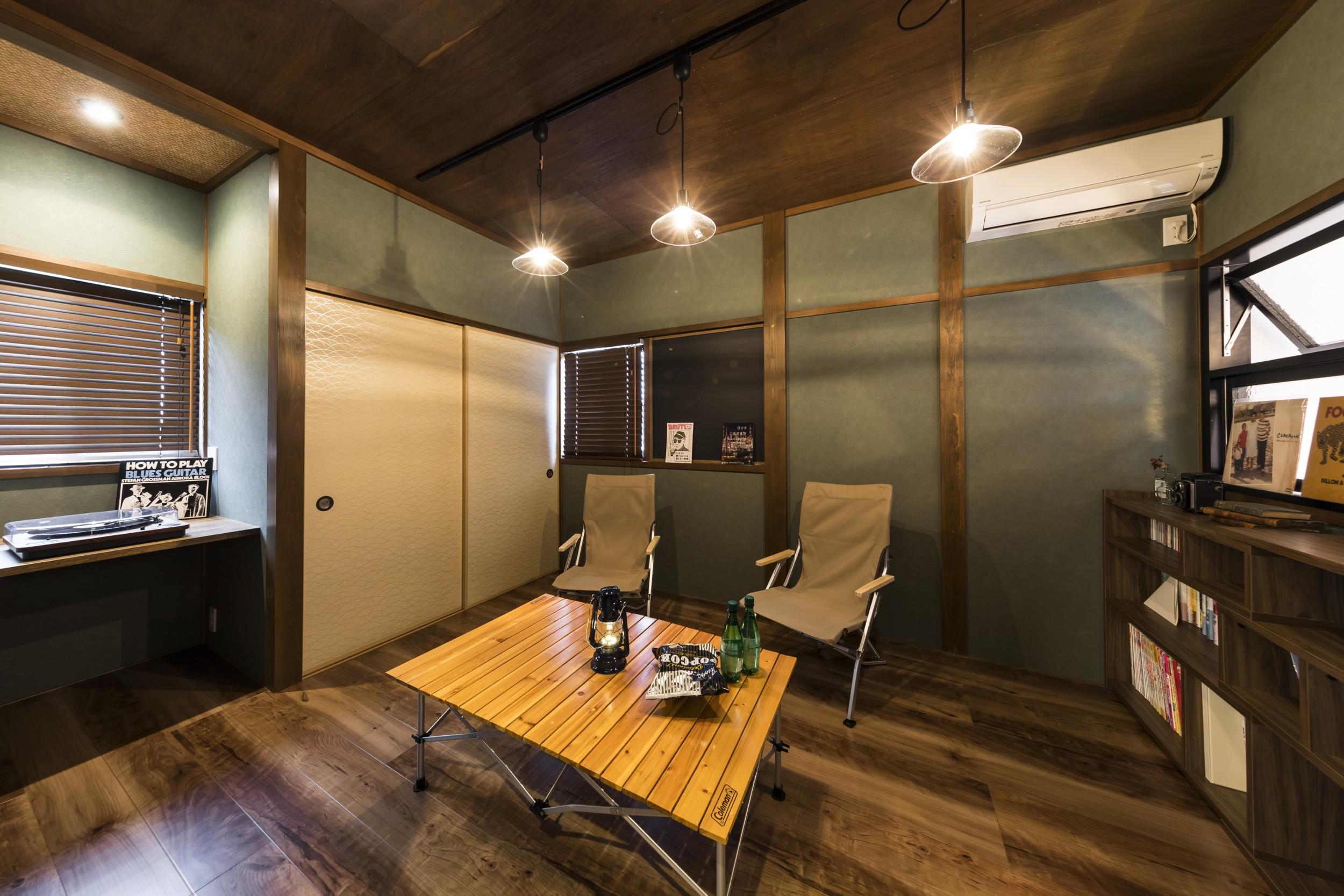 岐阜市H様邸のリノベーション事例のフリースペース