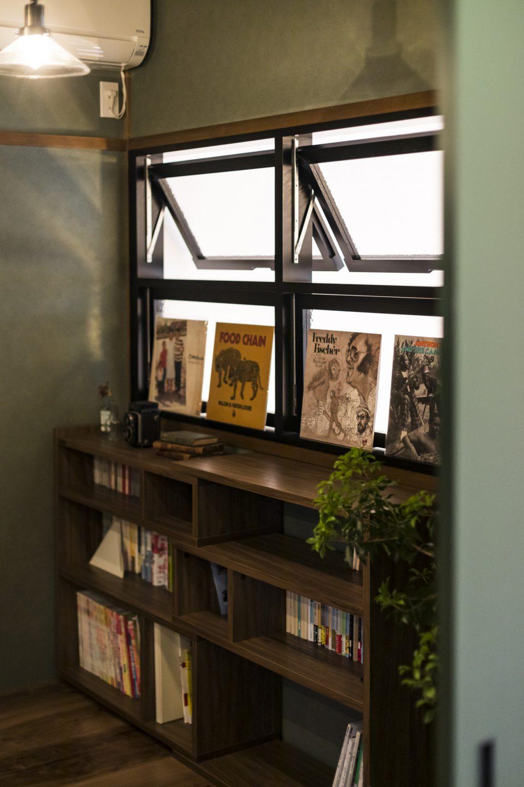 岐阜市H様邸のリノベーション事例の室内窓