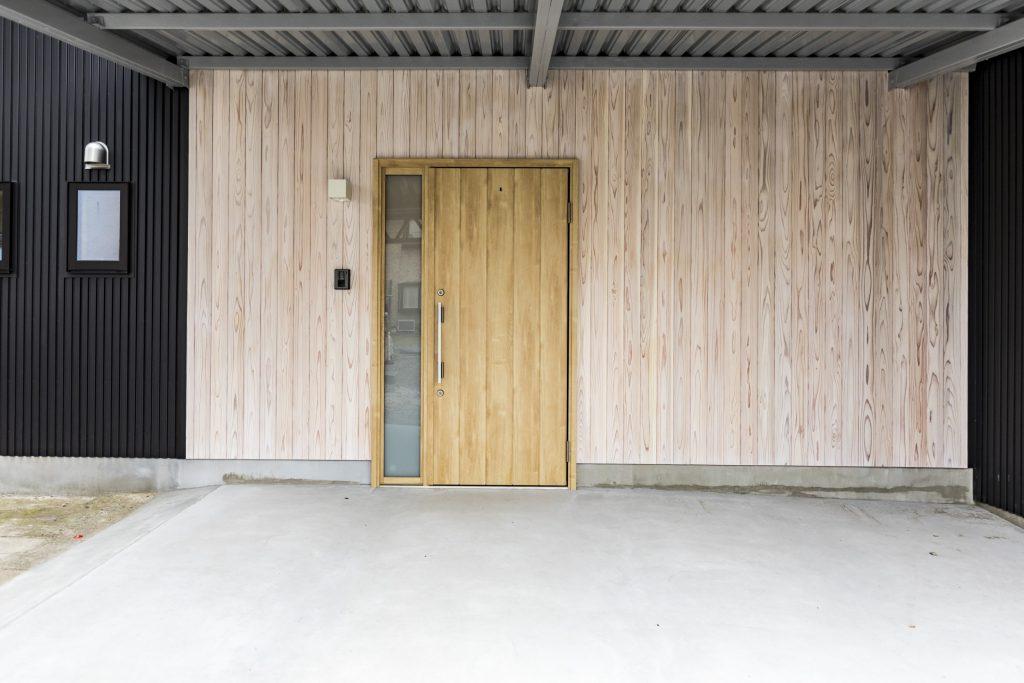 大垣市N様邸リノベーション事例の玄関