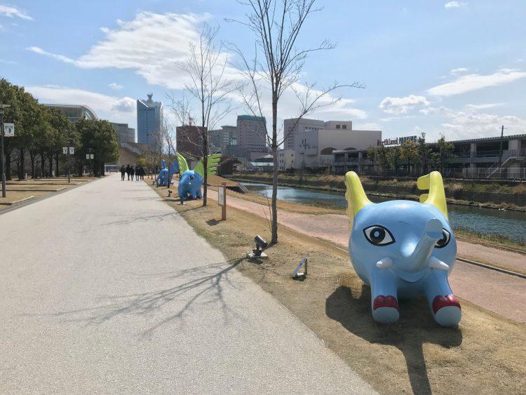 富山県美術館のマスコットのミルゾー