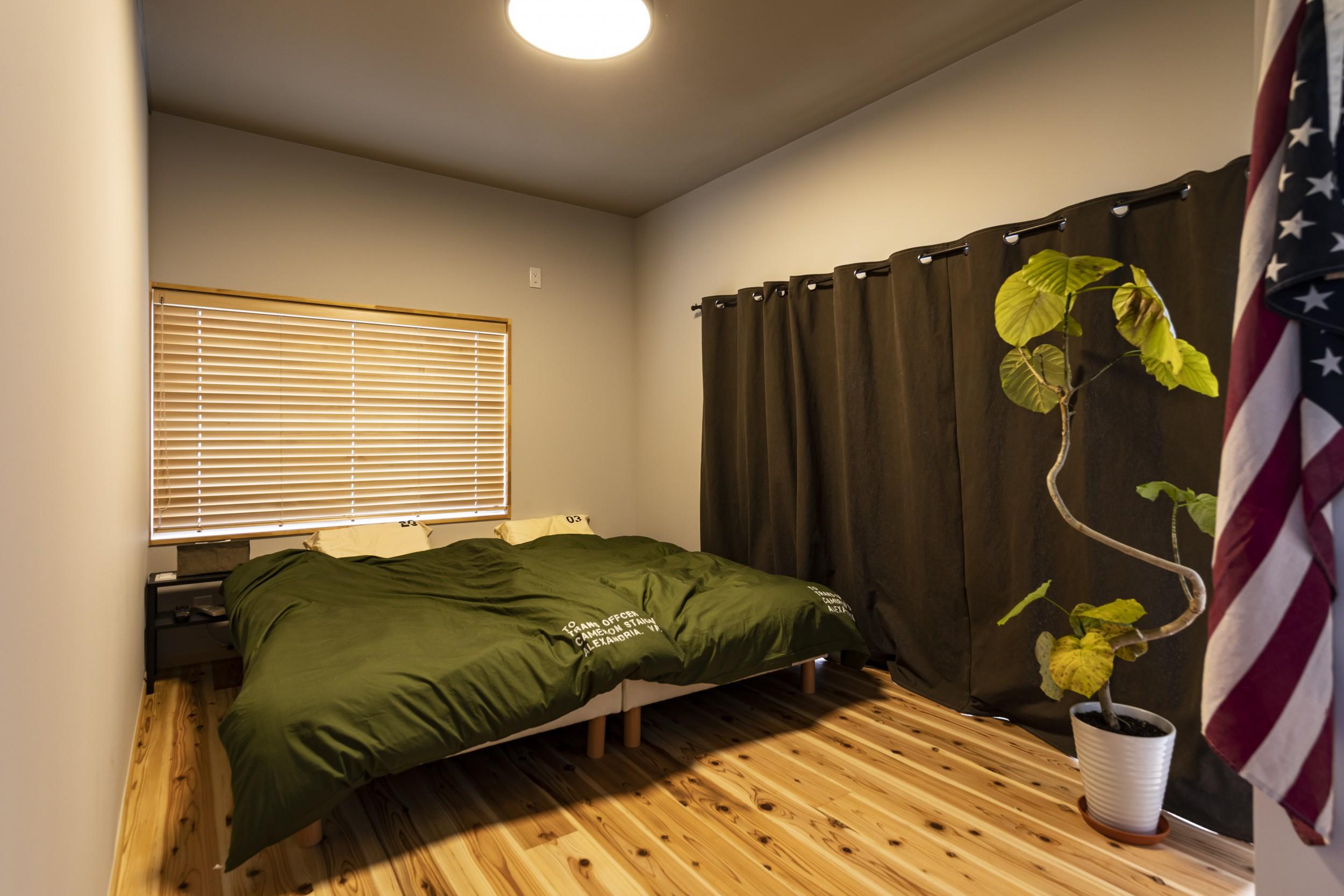 岐阜県土岐市戸建てリノベーション事例の寝室