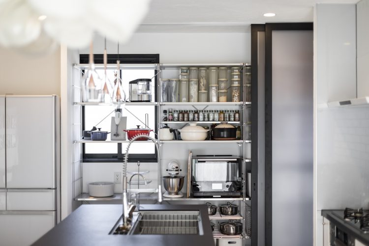 岐阜リノベーションのキッチンパントリー