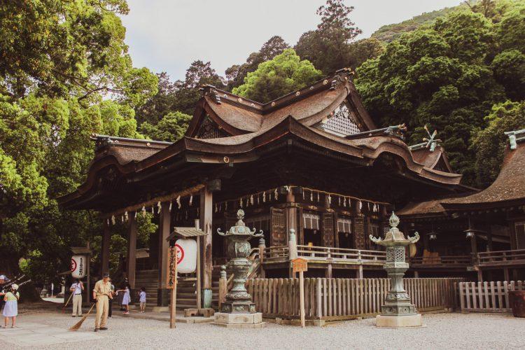 香川県の金刀比羅宮の本殿