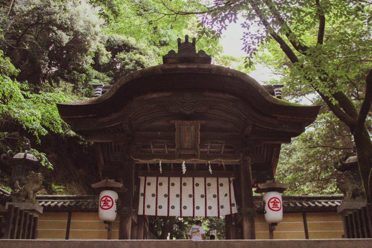 香川県の金刀比羅宮の門
