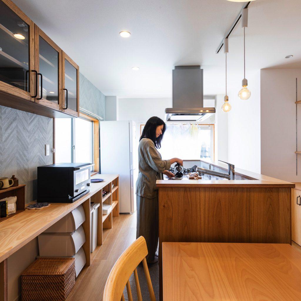 大垣市の賃貸リノベーション・リフォーム事例のキッチン