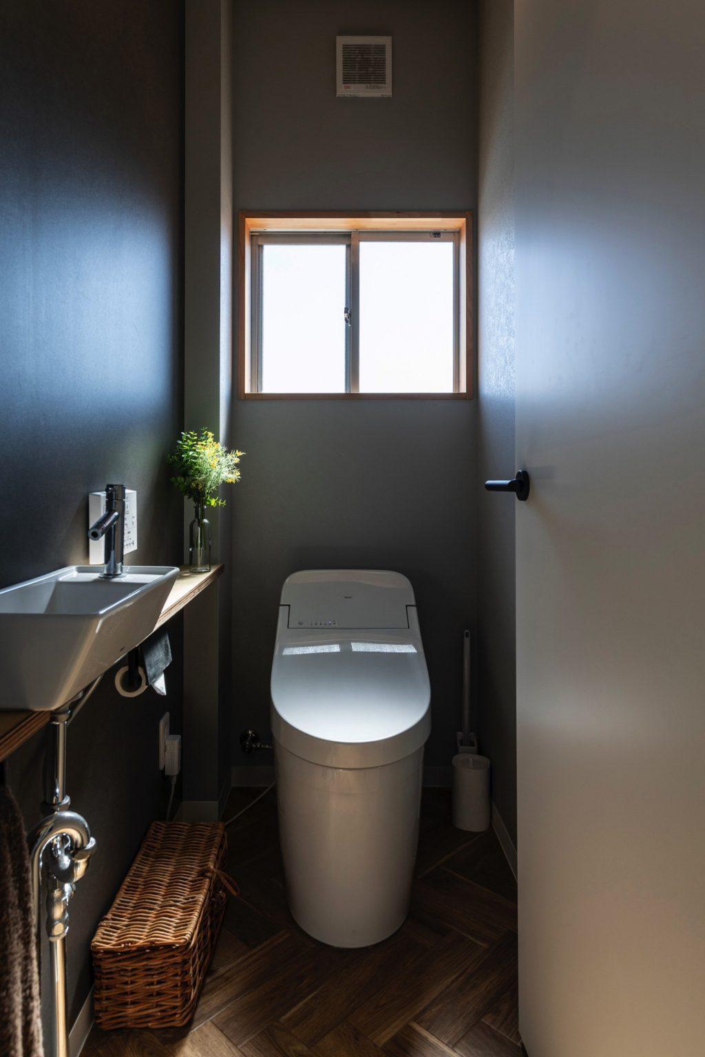 大垣市の賃貸リノベーション・リフォーム事例のトイレ