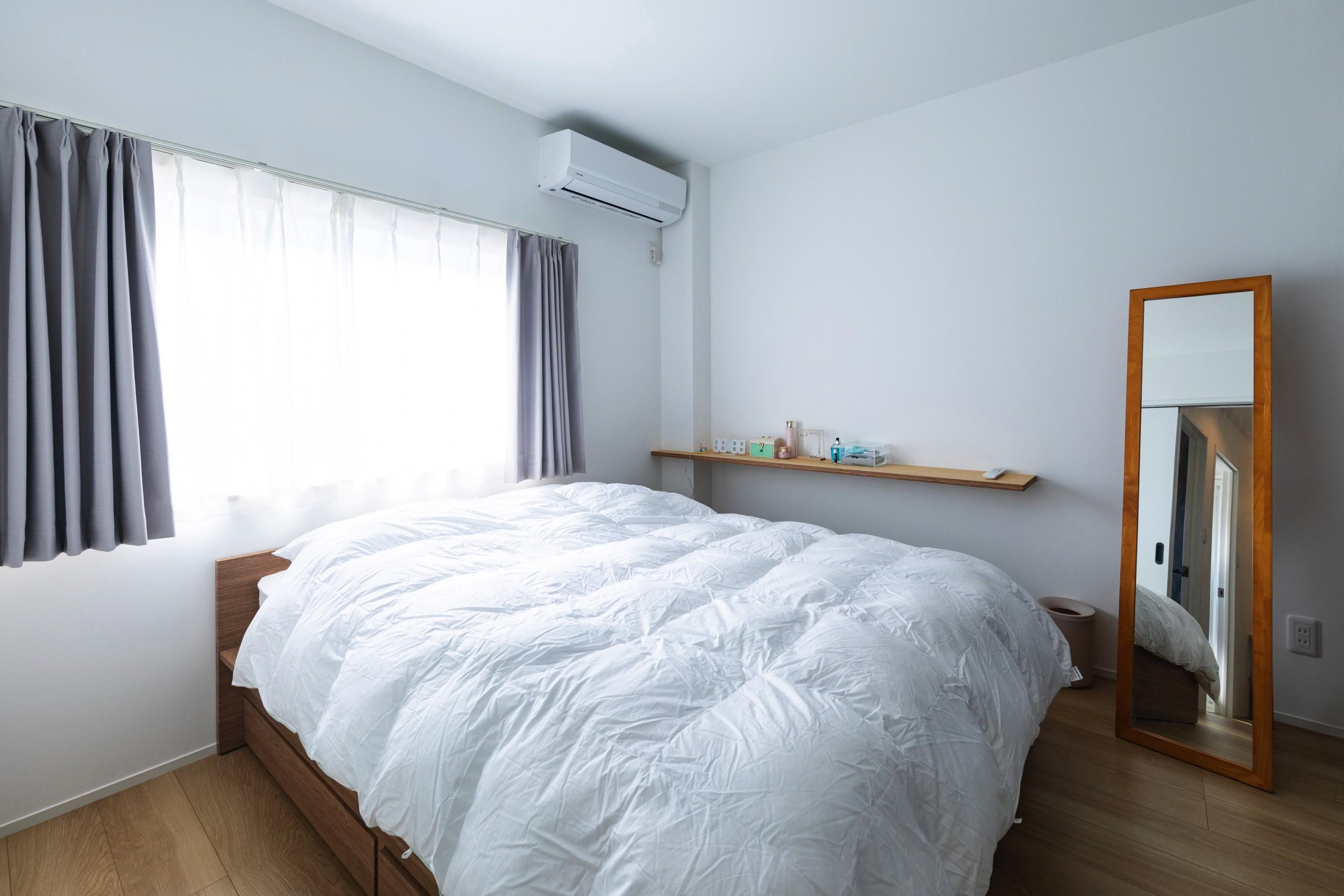 大垣市の賃貸リノベーション・リフォーム事例の寝室