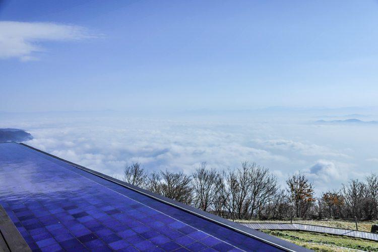びわ湖テラスから見えた雲海