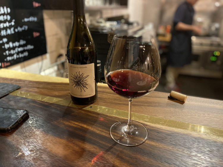 岐阜県各務原市鵜沼にある鵜沼葡萄酒食堂で飲める赤ワイン