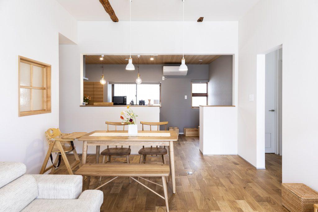 岐阜県垂井町の中古戸建て購入リノベーション事例のキッチン