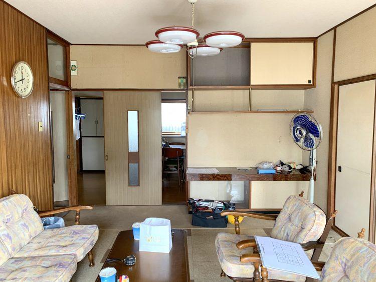 岐阜県垂井町の中古戸建て購入リノベーション事例のビフォー写真