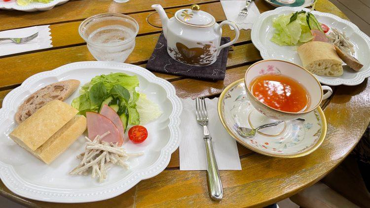 岐阜県瑞浪市にある自然に囲まれたカフェ・了庵(りょうあん)ののモーニング