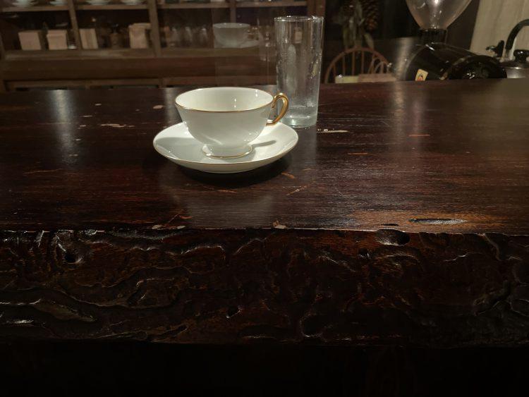 岐阜垂井町の青島珈琲焙煎所のコーヒー
