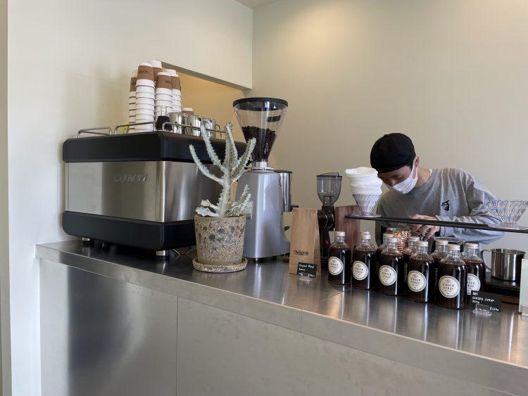 岐阜市のメディアコスモスそばのブリッツコーヒーの2号店3
